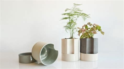 What Is A Self Watering Planter by 10 Easy Pieces Self Watering Pots And Planters Gardenista