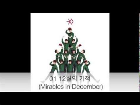 download mp3 exo christmas day download 131219 exo 12월의 기적 miracles in december m