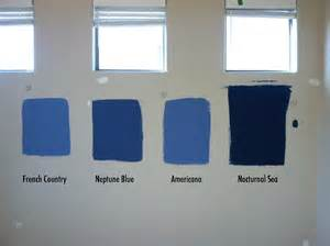 Resources behr paints french country americana neptune blue and