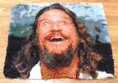 The Rug From The Big Lebowski by Big Lebowski Rug The Awesomer