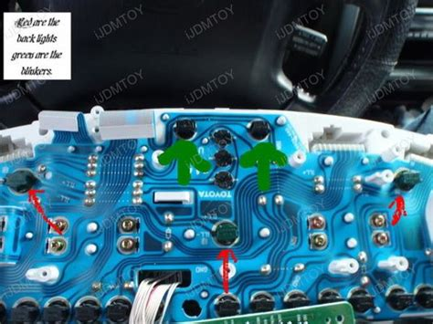 how to change the dash lights in a 2006 lincoln town car ijdmtoy installation diy guide for led gauge cluster