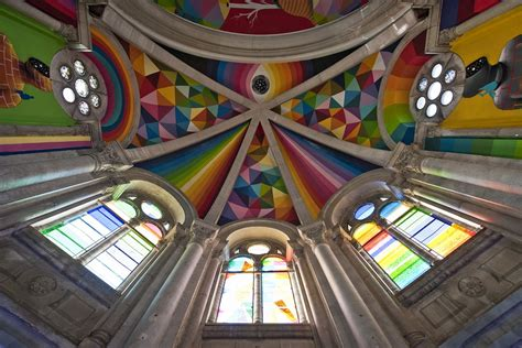 Kaos Islamic Artwork 10 by Projects Okuda Kaos Temple Spain 171 Arrested Motion