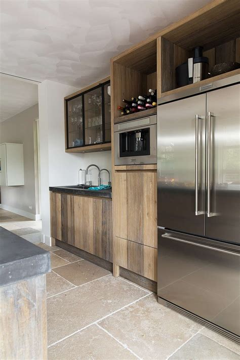 houten vloer 2e hands landelijke keukens en houten woonkeukens op maat tinello