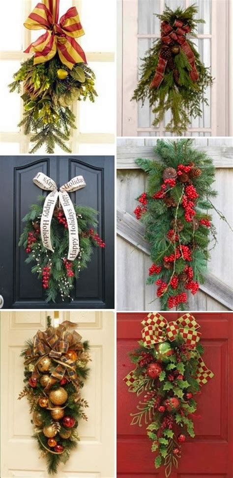 christmas door swags holidays events that i love
