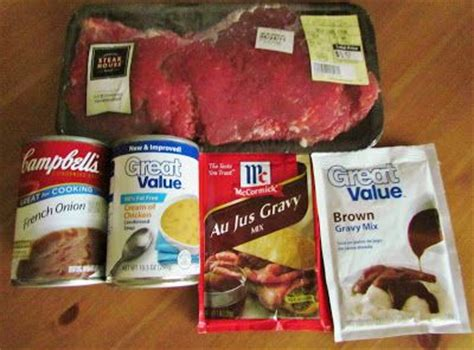 cooker country style steak crock pot cubed steak with gravy recipe gravy