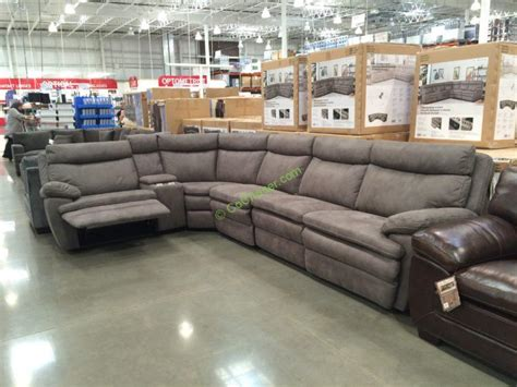 power reclining sofa costco fabric reclining sectional costcochaser