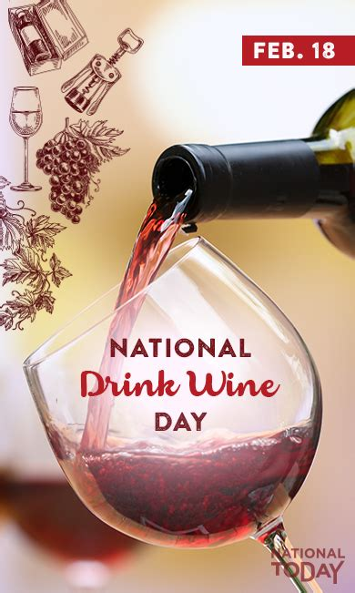 national drink wine day  history facts  celebrations