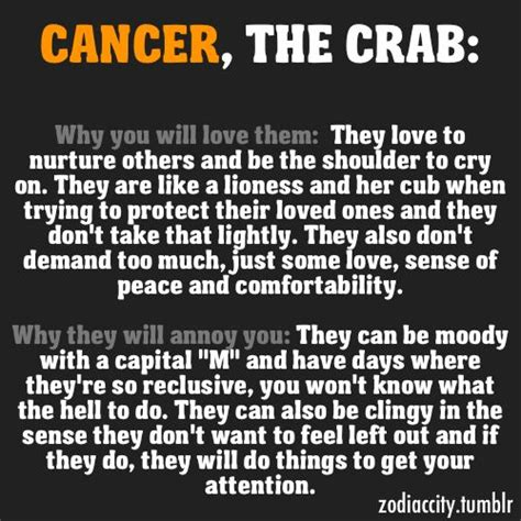 cancer zodiac mood swings the best zodiac facts so true crabs and facts