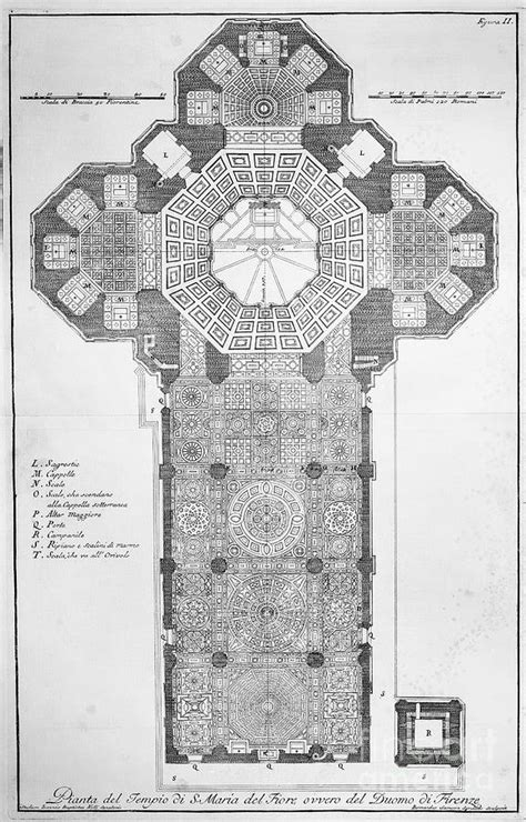 milan cathedral floor plan florence cathedral by granger
