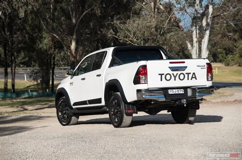 2017 Toyota Hilux 2017 Toyota Hilux Trd Review Performancedrive
