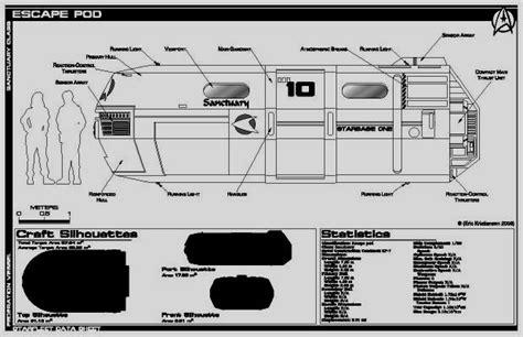 Paramount Floor Plan jackill starfleet escape pod sanctuary class saratoga