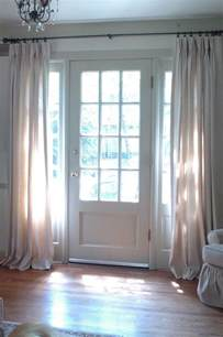 Curtains For Door Window by 25 Best Ideas About Sidelight Curtains On