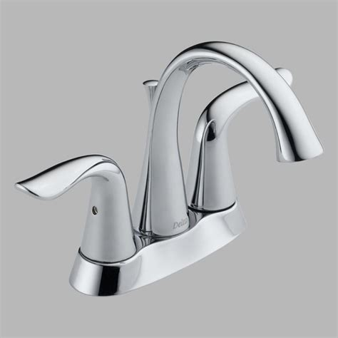 Delta Modern Bathroom Faucets Delta Lahara 2538 Handle Centerset Bathroom Sink