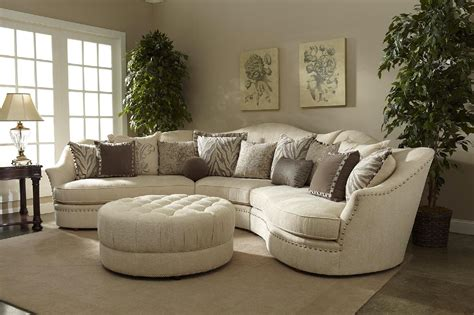 curved back sofas and loveseats ivory sectional sofa curved sectional shop factory direct
