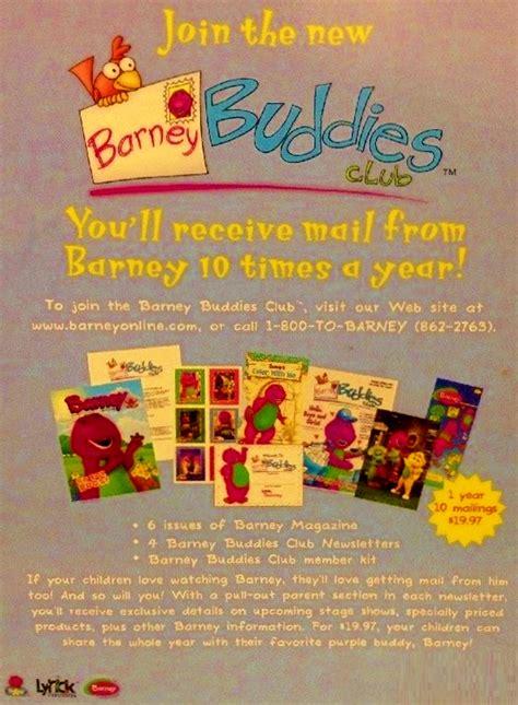 barney fan club magazines allnewbarneyclub deviantart gallery