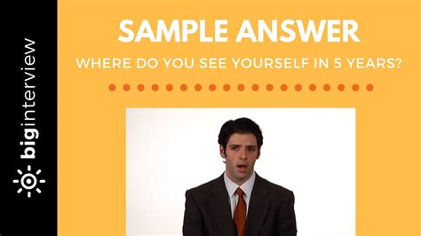 3 tips to help you answer where do you see yourself in 5 years