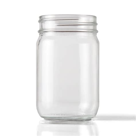 what are jars 12 oz clear glass economy jar packaging options direct