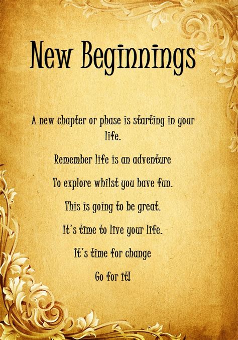 quotes about new beginnings quotesgram