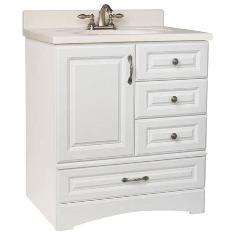 glacier bay bathroom vanities glacier bay danville 30 in w x 21 in d x 33 5 in h