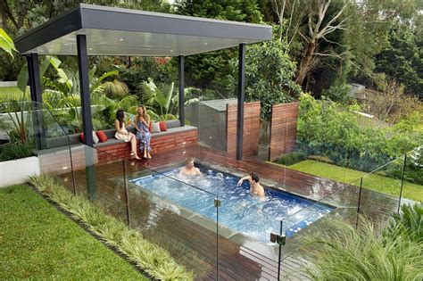 small inground pool ideas spa small inground pools pergola inground pool costs