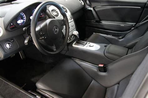 mercedes mclaren interior 2005 mercedes benz slr mclaren 2 door coupe 130378