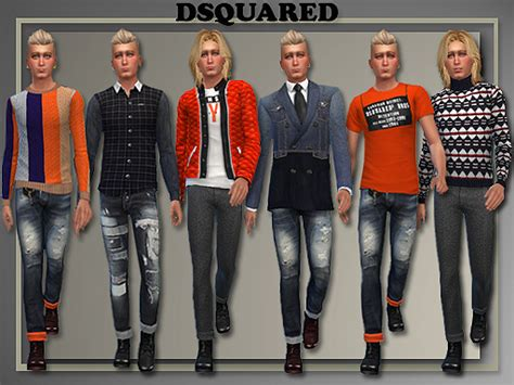 Cool Home Decor Websites by All About Style Dsquared Male Fall Winter 2014 Sims 4