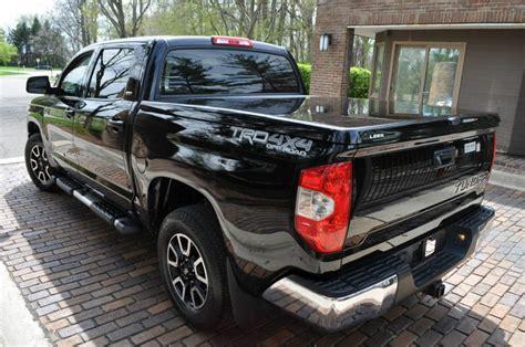 Toyota Tundra 2015 Mpg Low Mileage 2015 Toyota Tundra Crew Cab For Sale