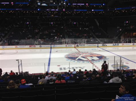 section 8 hockey barclays center section 8 new york islanders