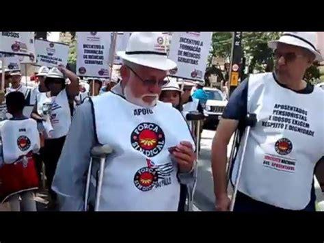aumentos dos aposentados 2016 carnaval de protesto sindicato nacional dos aposentados