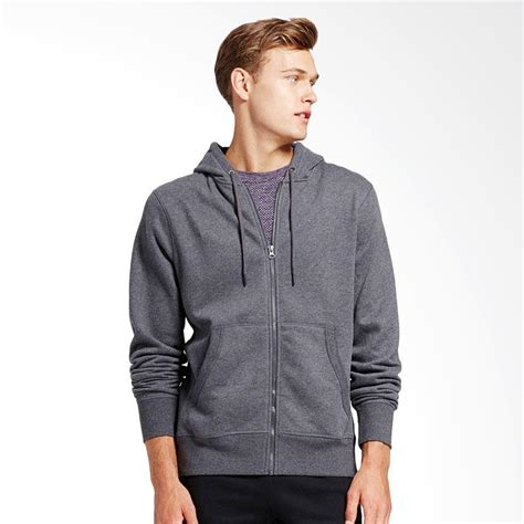 Sw Jaket Hoodie Pria Grey 1 jual refill stuff hoodie polos jaket pria grey