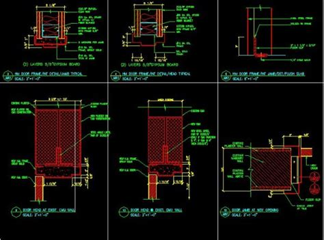 door jamb details cad drawings cad blocks city design architecture projects