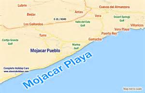 Car Hire Alicante Mojacar Mapa De La Costa De Almer 237 A Area De Moj 225 Car