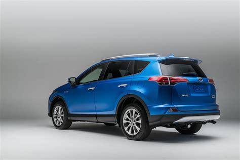 Toyota Rav4 Ev For Sale 2016 Toyota Rav4 Gets Style Tech Update New Rav4 Hybrid