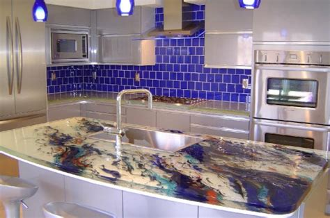 How Much Are Glass Countertops by Glass Countertops For Kitchens