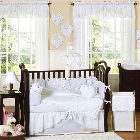 white crib bedding set 21 best images about cream white nursery bedding on pinterest baby crib bedding