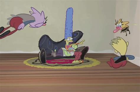 john k couch gag 26 years of treehouse of horror 5 things you need to know