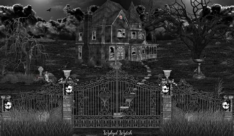 the house on haunted hill house on haunted hill monochrome by xwykydwytchx on deviantart
