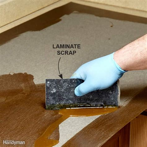 Adhesive For Laminate Countertops by Installing Laminate Countertops The Family Handyman