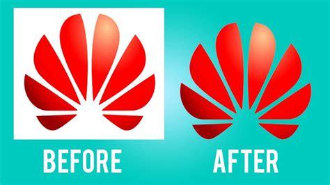 cara cepat menghapus background putih pada logo dengan