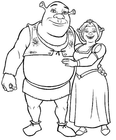 Dessins De Shrek 224 Colorier Princess Fiona Coloring Pages Free Coloring Sheets