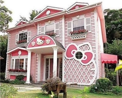 dreams home stuff dreams house hello kitty house hello putty pink things homes dream houses