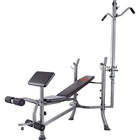 pro power bench pro power lat and curl bench multi gym bench press leg