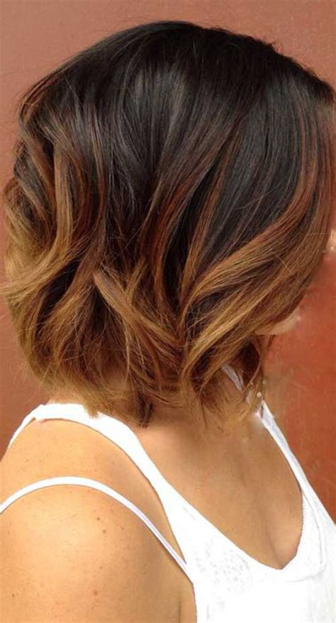 long bob ombre hair short hairstyles