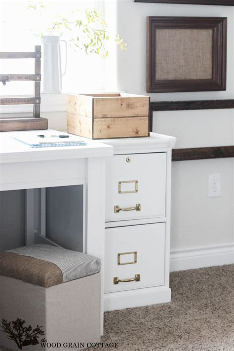 How To Paint a Filing Cabinet   The Wood Grain Cottage