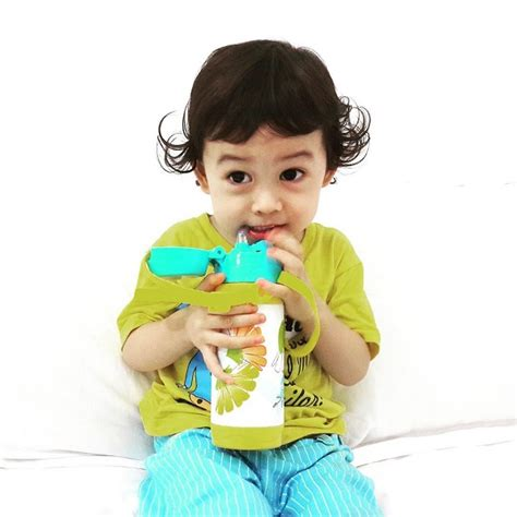 Botol Minum Bayi Nuby Insulated Stainless Steel Straw Bottle 280ml Nuby Clik It Stainless Straw Cup Botol Minuman Sedotan Lucu