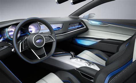 subaru hybrid interior car and driver
