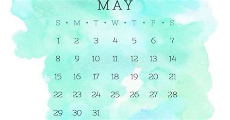 background kalender blue turquoise and green may 2016 calendar wallpaper free