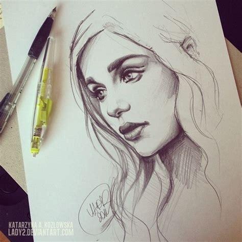 desenho femininos 25 melhores ideias de desenhos de rostos no