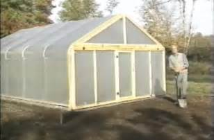 Building A Small Home Greenhouse How To Build A Metal Frame Greenhouse For 600 Grid