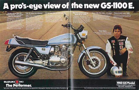 Suzuki Advert Suzuki Gs1100e Magazine Ads